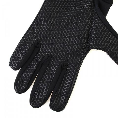 Купить мужские черные, серые  перчатки ua armourtech glove black в магазинах Streetball - изображение 2 картинки