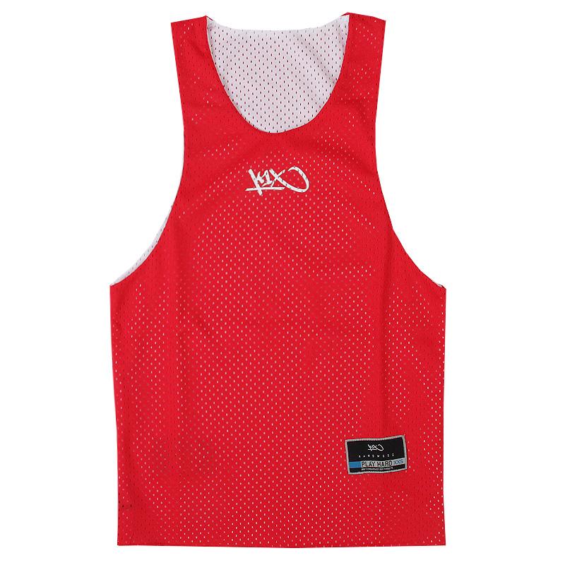 Майка hardwood rev practice jerseyБезрукавки<br>100 % полиэстер<br><br>Цвет: Красный<br>Размеры US: M;XL;2XL;3XL