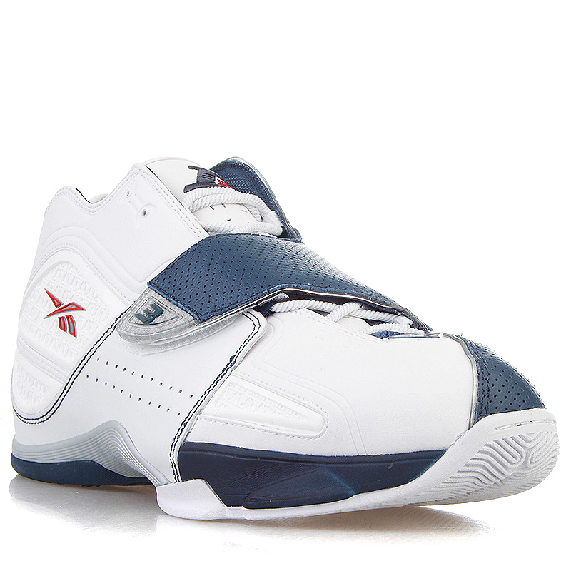 87d23cce мужские белые, синие кроссовки reebok answer xi 181283 - цена, описание,  фото 1