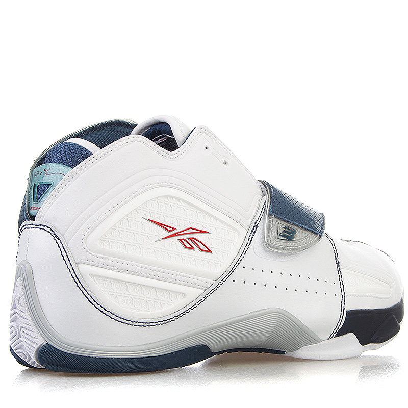 d9fb8ca7 мужские белые, синие кроссовки reebok answer xi 181283 - цена, описание,  фото 2