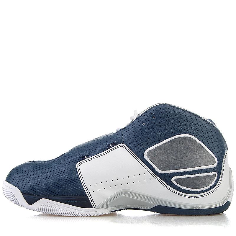 9d84f611 мужские белые, синие кроссовки reebok answer xi 181283 - цена, описание,  фото 3