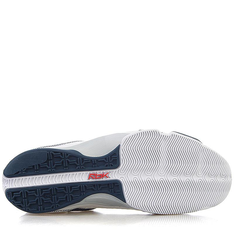 356c13c5 мужские белые, синие кроссовки reebok answer xi 181283 - цена, описание,  фото 4