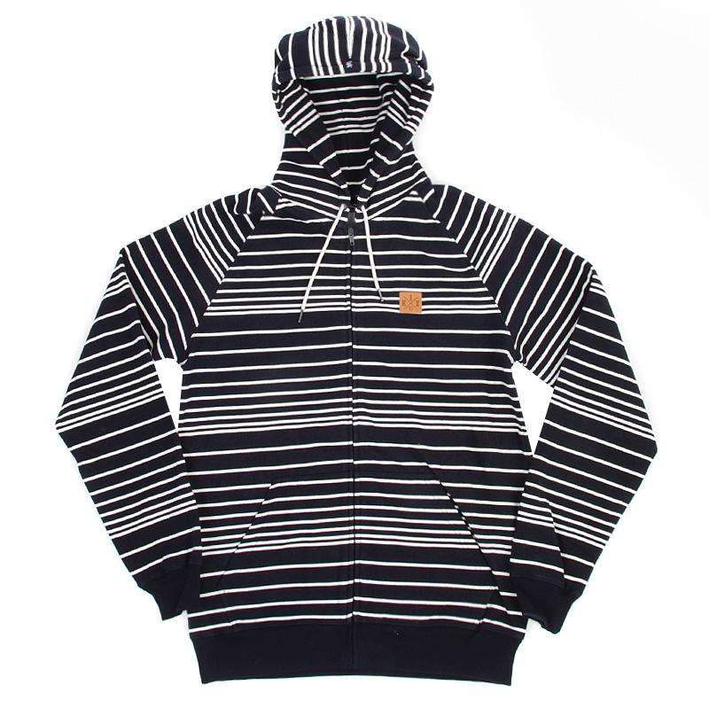 Толстовка Line Zipper HoodyТолстовки свитера<br>хлопок, полиэстер<br><br>Цвет: Синий, белый<br>Размеры US: M<br>Пол: Мужской