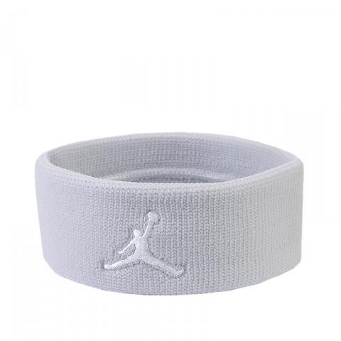 мужскую серую, белую  повязка jordan dominate headband 519603-078 - цена, описание, фото 1
