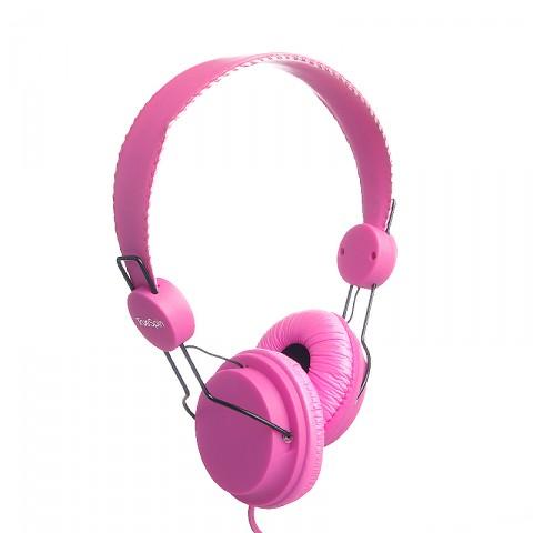 мужские малиновые, розовые  наушники headphone-magenta - цена, описание, фото 1