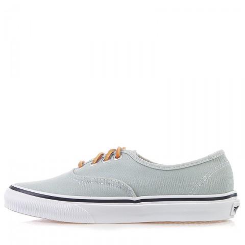 Купить мужские серые, белые  кроссовки vans u authentic в магазинах Streetball - изображение 3 картинки