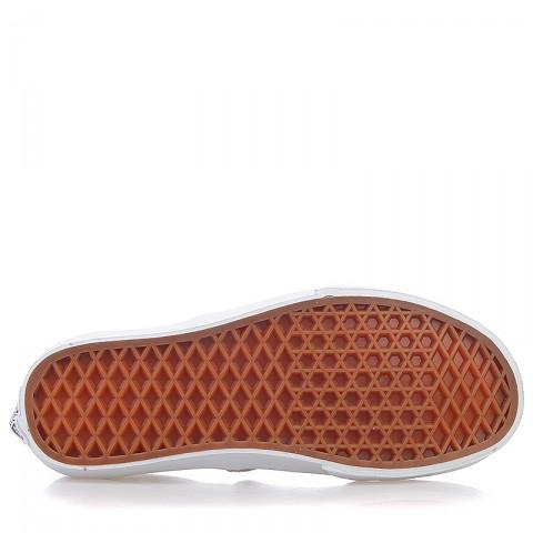 Купить мужские серые, белые  кроссовки vans u authentic в магазинах Streetball - изображение 4 картинки