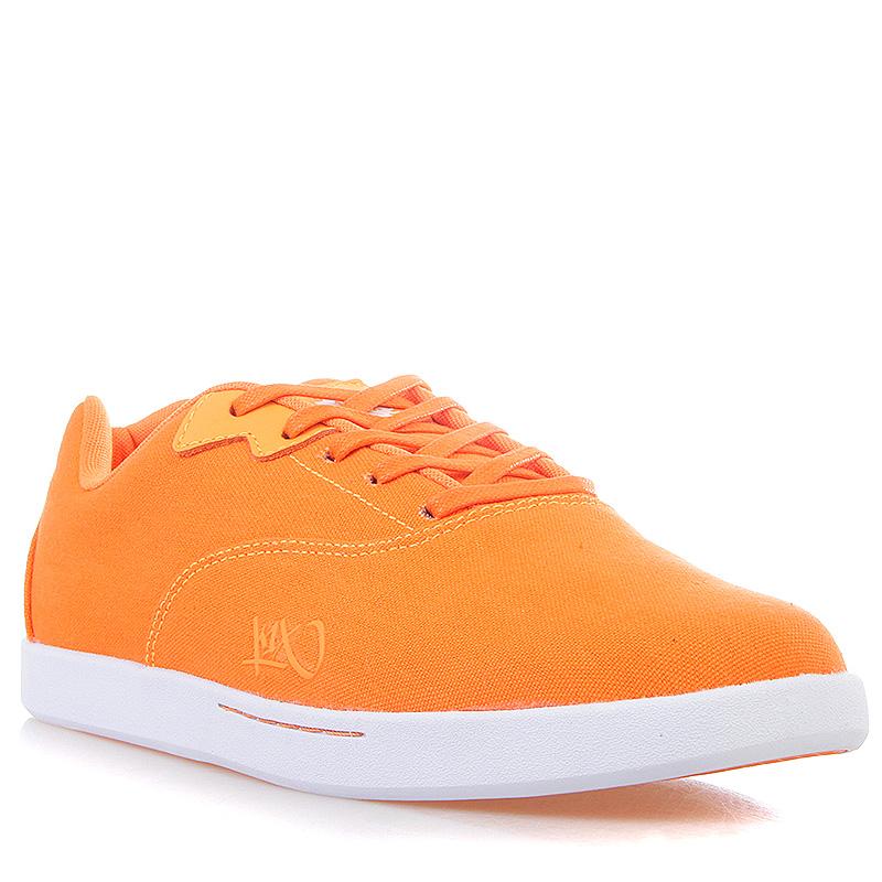 Кроссовки K1X CaliКроссовки lifestyle<br>текстиль, резина<br><br>Цвет: Оранжевый, белый<br>Размеры US: 12<br>Пол: Мужской