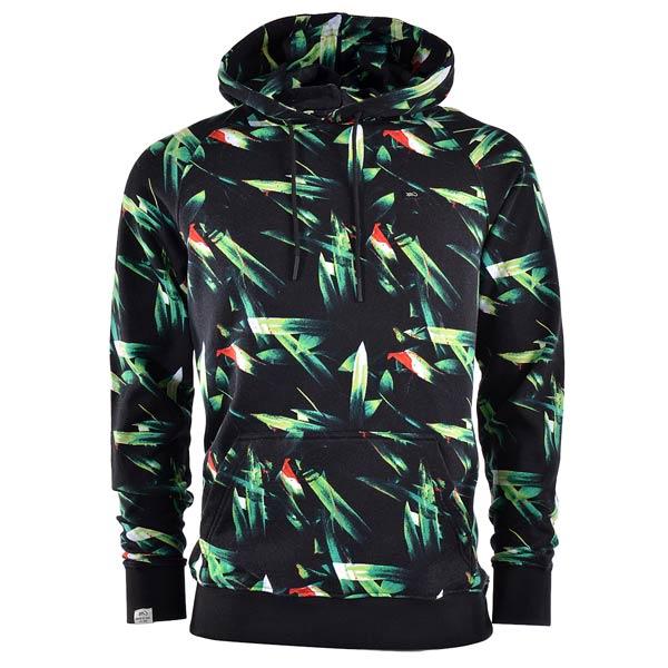 Толстовка K1X Oahu HoodyТолстовки свитера<br>хлопок, полиэстер<br><br>Цвет: Черный, зеленый<br>Размеры US: 2XL;XL