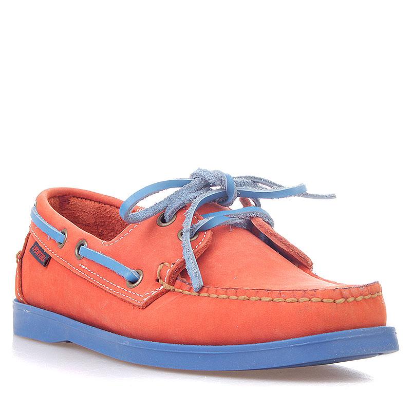 женские оранжевые, синие  топсайдеры R13W-023-m - цена, описание, фото 1