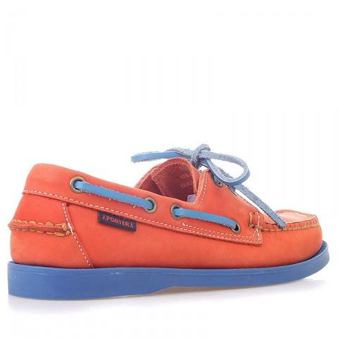 женские оранжевые, синие  топсайдеры R13W-023-m - цена, описание, фото 2