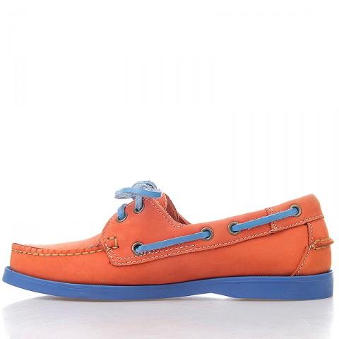женские оранжевые, синие  топсайдеры R13W-023-m - цена, описание, фото 3