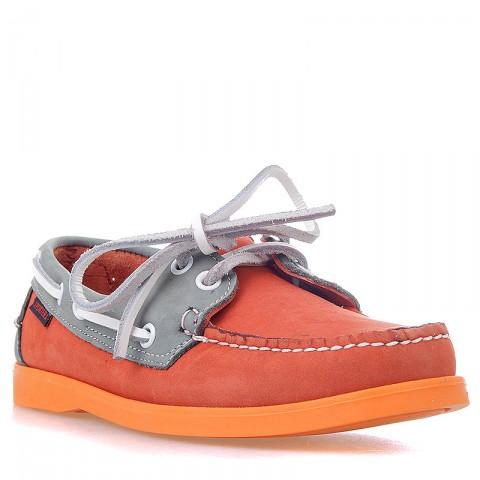 Купить женские оранжевые, серые  топсайдеры в магазинах Streetball - изображение 1 картинки