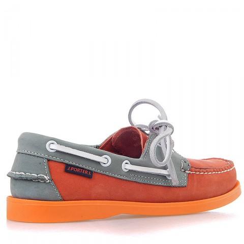 Купить женские оранжевые, серые  топсайдеры в магазинах Streetball - изображение 2 картинки