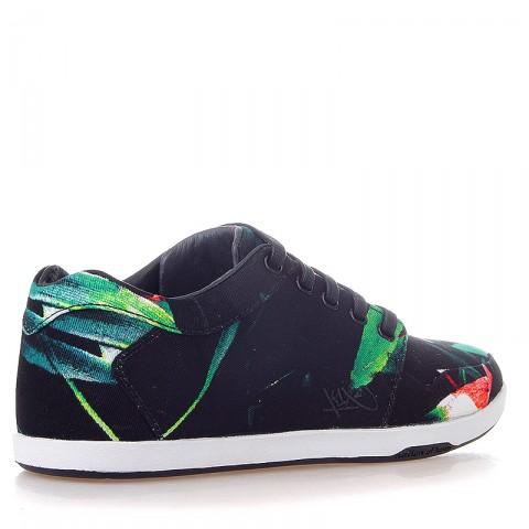 черные, белые, зеленые  кроссовки k1x lp low 1000-0187/9036 - цена, описание, фото 2