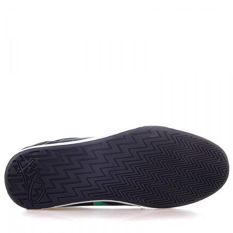 черные, белые, зеленые  кроссовки k1x lp low 1000-0187/9036 - цена, описание, фото 4