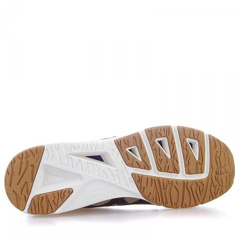 мужские бежевые, коричневые, белые  кроссовки onitsuka tiger burford D445N-9986 - цена, описание, фото 4