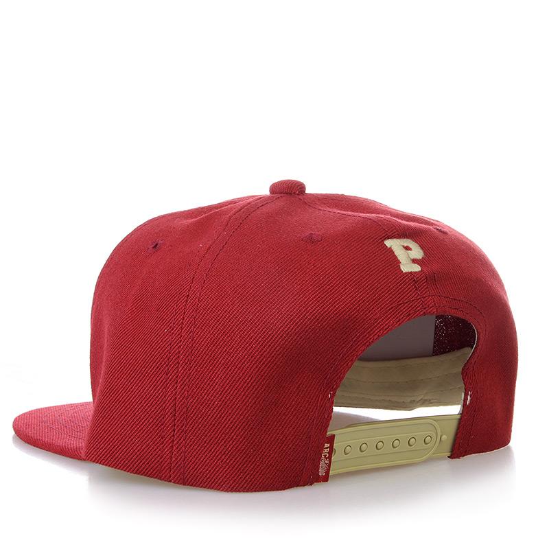 мужскую бордовую, бежевую  бейсболка ABC-P-bordo - цена, описание, фото 2