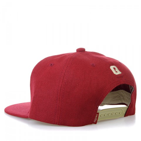 мужскую бордовую, бежевую  бейсболка ABC-Q-bordo - цена, описание, фото 2