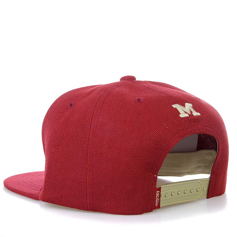 мужскую бордовую, бежевую  бейсболка ABC-M-bordo - цена, описание, фото 2