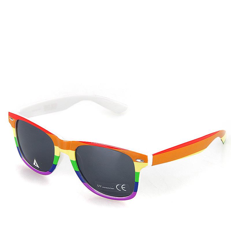 мужские красные, оранжевые, синие, желтые, зеленые  очки Rainbow-wht-rainbow - цена, описание, фото 1