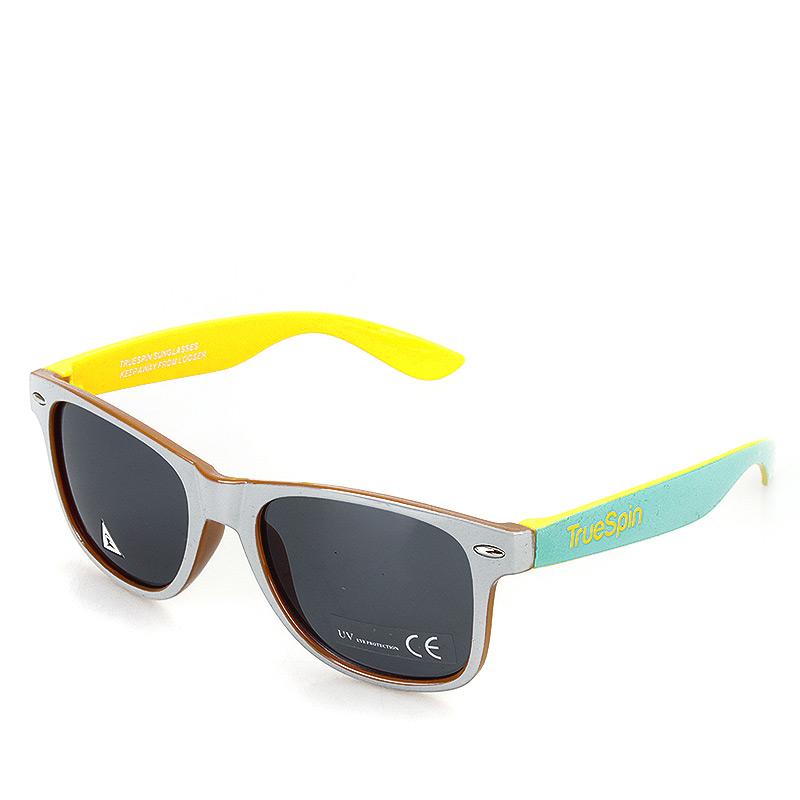 мужские серые, желтые, голубые  очки HongKong-grey-mint - цена, описание, фото 1