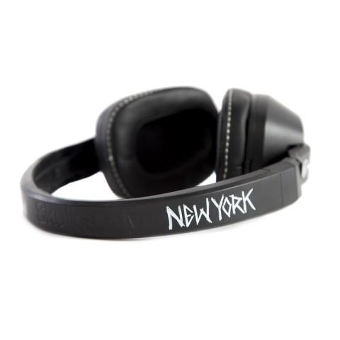 Купить мужские черные, белые  наушники ziq & yoni x skullcandy в магазинах Streetball - изображение 2 картинки