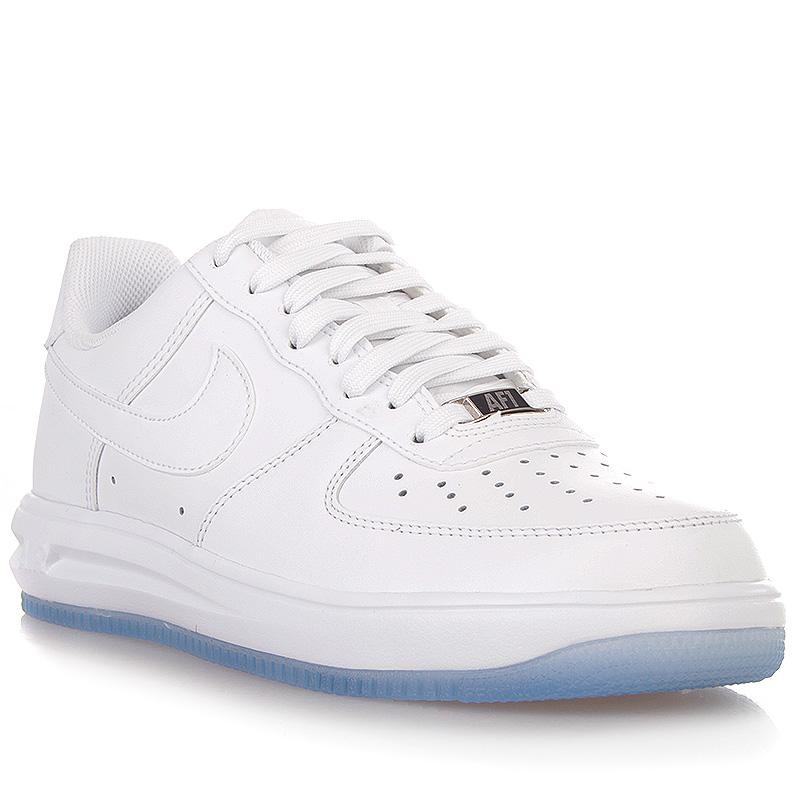 Купить мужские белые  кроссовки nike lunar force 1 '14 в магазинах Streetball изображение - 1 картинки