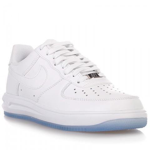 Купить мужские белые  кроссовки nike lunar force 1 '14 в магазинах Streetball - изображение 1 картинки