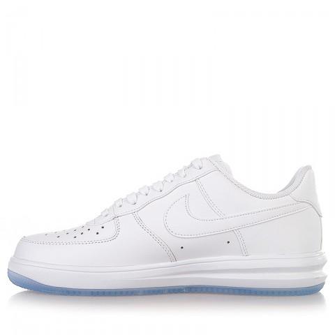 Купить мужские белые  кроссовки nike lunar force 1 '14 в магазинах Streetball - изображение 3 картинки