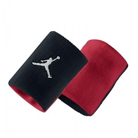 Купить мужскую черную, красную  повязка на руку jordan jumpman wristband в магазинах Streetball - изображение 1 картинки