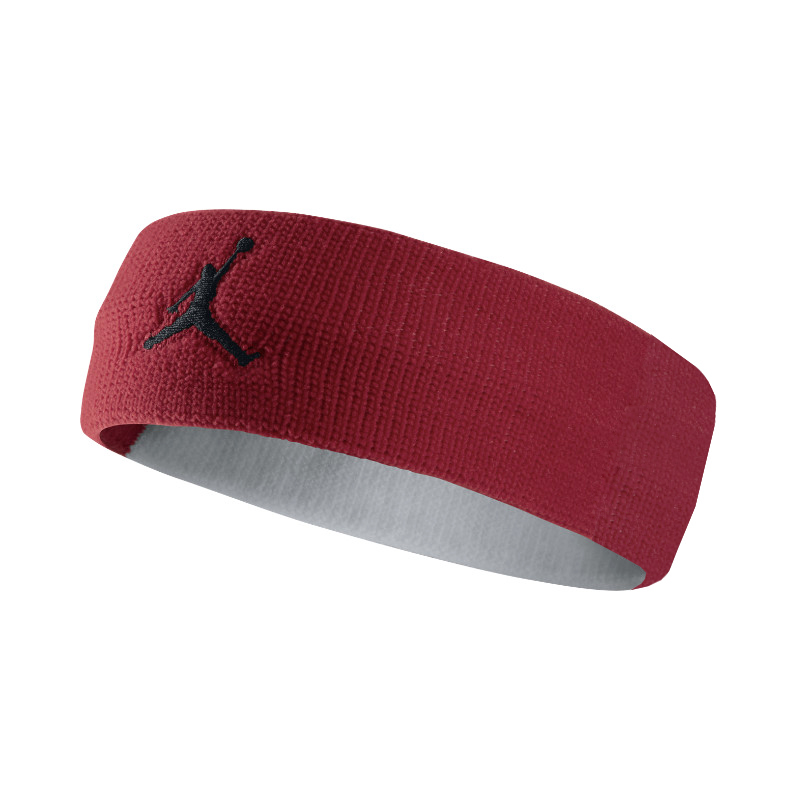 Повязка на голову Jordan Jumpman HeadbandПовязки<br>нейлон<br><br>Цвет: Бордовый, белый<br>Размеры US: 1SIZE<br>Пол: Мужской
