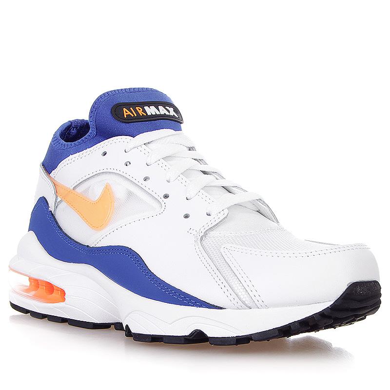 more photos 3be15 7d5c9 ... мужские белые, синие, оранжевые кроссовки nike air max 93 306551-100 -  цена ...