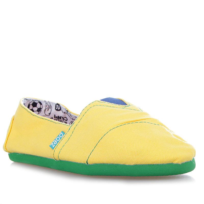PAEZ MundialСланцы, балетки<br>100% хлопок<br><br>Цвет: Желтый, зеленый<br>Размеры : 38;41;42