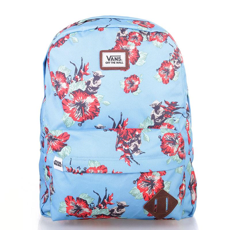 5cb9e113ba27 голубой рюкзак vans star wars yoda aloha VONIE4Q - цена, описание, фото 1
