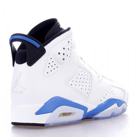 Купить мужские белые  кроссовки air jordan 6 retro в магазинах Streetball - изображение 2 картинки