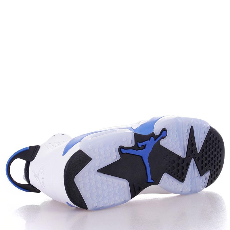 Купить мужские белые  кроссовки air jordan 6 retro в магазинах Streetball изображение - 4 картинки