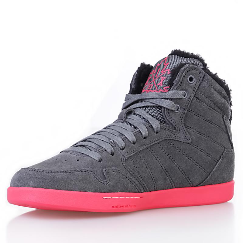 женские серые, розовые, черные  ботинки shorty h1top le 8647 6000-0010/8647 - цена, описание, фото 4