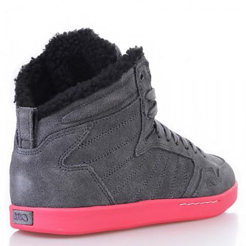 женские серые, розовые, черные  ботинки shorty h1top le 8647 6000-0010/8647 - цена, описание, фото 2