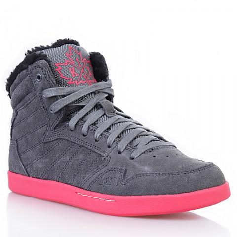 женские серые, розовые, черные  ботинки shorty h1top le 8647 6000-0010/8647 - цена, описание, фото 1