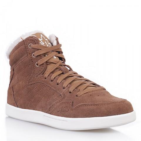 женские коричневые, белые  ботинки shorty h1top le 7911 6000-0010/7911 - цена, описание, фото 1