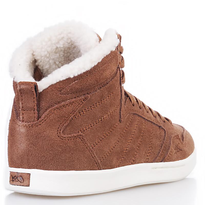 женские коричневые, белые  ботинки shorty h1top le 7911 6000-0010/7911 - цена, описание, фото 2