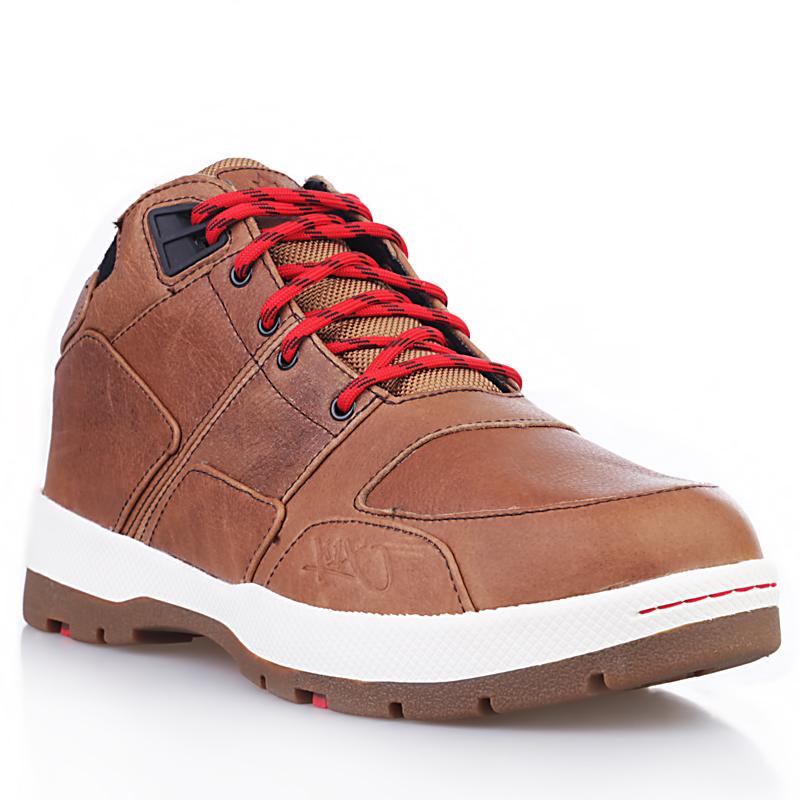 Ботинки H1ke Allxs LE 7129Ботинки<br>Кожа, текстиль, резина<br><br>Цвет: Коричневый, красный, белый<br>Размеры US: 7<br>Пол: Мужской