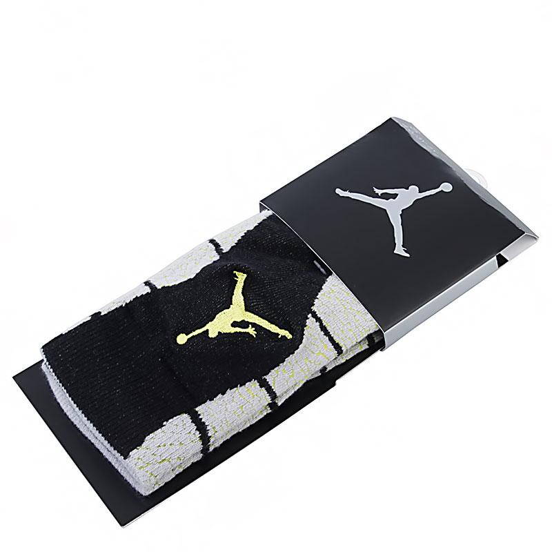 Носки Jordan Elephant Print CrewНоски<br>Текстиль<br><br>Цвет: Черный, серый, желтый<br>Размеры US: S;M;L;XL