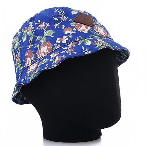 синюю, белую, зеленую  панама запорожец цветочки цветочки-royal-blue - цена, описание, фото 1