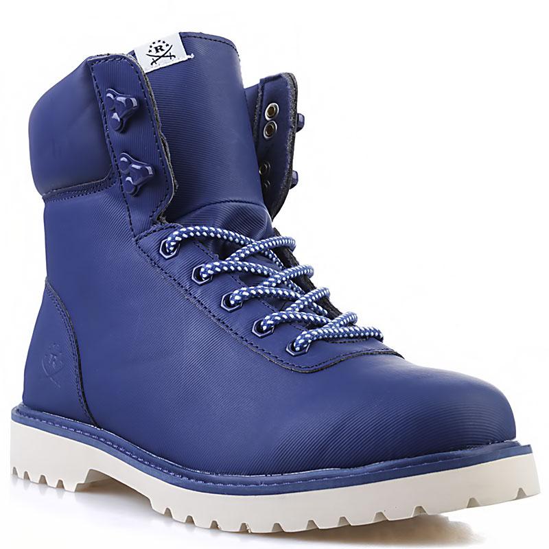 Купить мужские синие, кость  ботинки ransom summit в магазинах Streetball изображение - 1 картинки