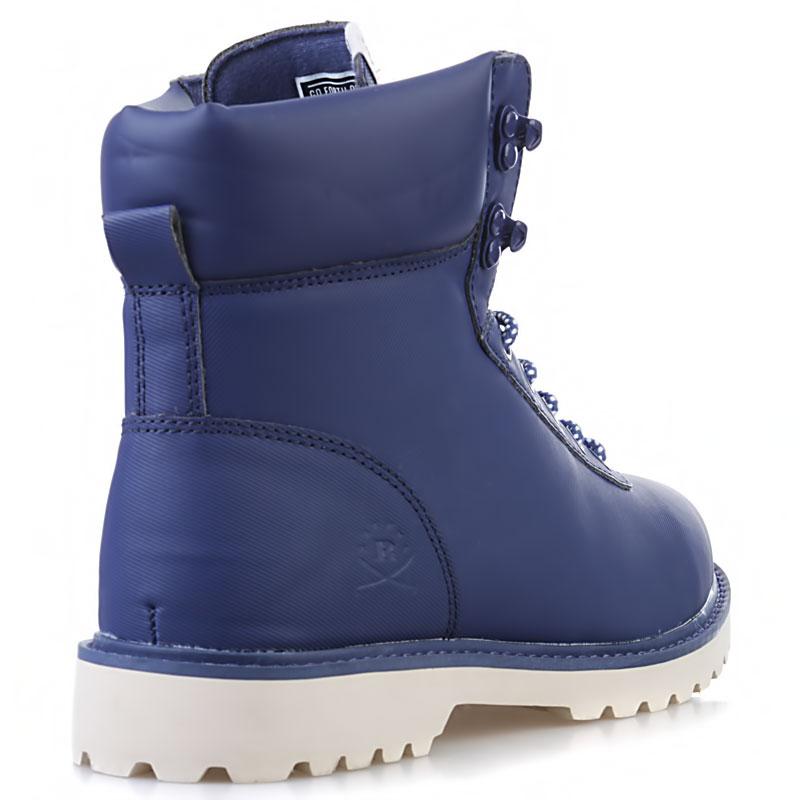 Купить мужские синие, кость  ботинки ransom summit в магазинах Streetball изображение - 2 картинки