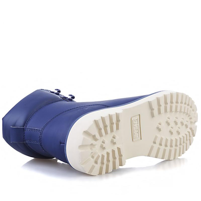 Купить мужские синие, кость  ботинки ransom summit в магазинах Streetball изображение - 3 картинки