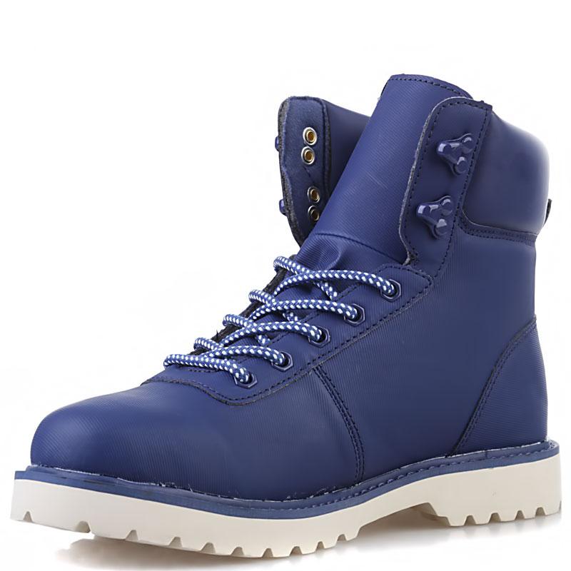 Купить мужские синие, кость  ботинки ransom summit в магазинах Streetball изображение - 4 картинки