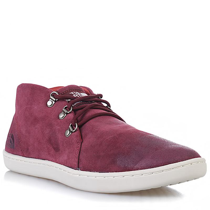 Купить мужские вишневые, белые  ботинки base camp leather chukka в магазинах Streetball изображение - 1 картинки